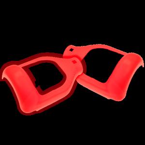 """Silikon Schutzhülle 6.5"""" rot"""
